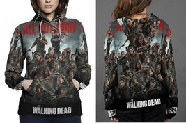 Hoodie women Walking Dead All Out War - $41.70+