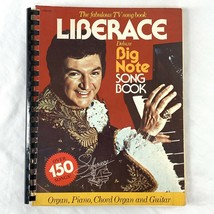 The Fabulous TV Song Book Liberace Deluxe Big Note Song Book over 150 songs - $14.25
