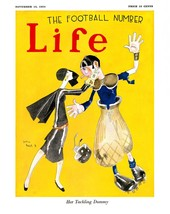 Life Magazine Prints: Her Tackling Dummy - Reed - Nov 13 1924 - $12.82+