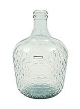 "Deco 79 18221 Glass Wide Bottle Vase, 10"" x 17"" - $36.63"