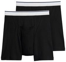 Jockey Men's Underwear Pouch Boxer Brief - 2 Pack, Black, S - $14.84