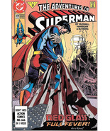 The Adventures of Superman Comic Book #479 DC Comics 1991 VFN/NEAR MINT ... - $2.99