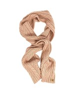 Timberland Women's Cable Knit Light Pink Scarf A1EDI - $24.74
