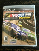 PS3 Nascar The Game 2011 Playstation 3 - $15.35