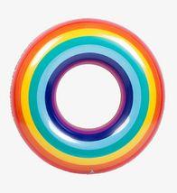 """Swim About Adult Giant Big Large Rainbow Swim Ring Tube 47"""" 120cm image 3"""