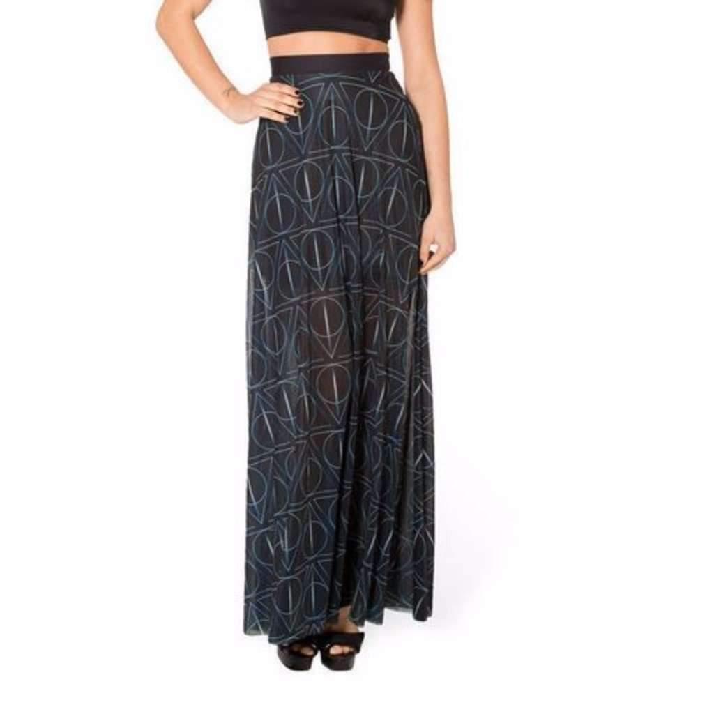 Daisy dress for less maxi skirt novelty pleated high waist maxi long skirt 1404365045791
