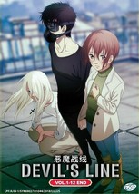 Devil's Line Complete Series (1-12 End) English Audio Dub Ship From USA
