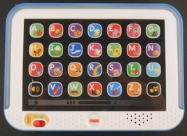 Fisher-Price Smart Stages Laugh & Learn Tablet Blue CHC67 - $7.99