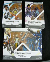3 Box Set Overwatch Ultimates Pharah and Mercy + Sombra Tracer Action Fi... - $26.68