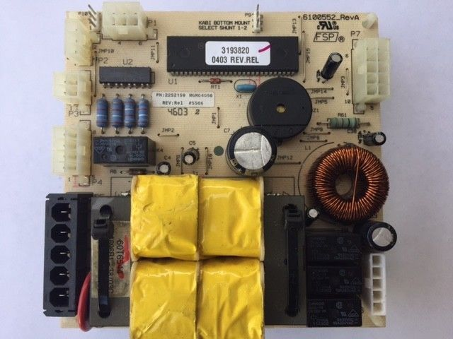 #128 GE Dryer Control Board WH12X10508 FREE SHIPPING 175D5261G035