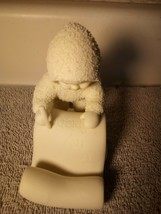 Dept 56 Snowbabies --LETTER To My FRIEND---------FREE SHIP--VGC - $16.37