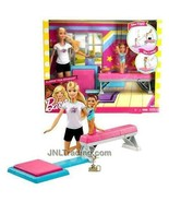 """NEW 2016 Barbie Career You Can Be Anything 12"""" Doll Playset Flippin' Fun Gymnast - $54.99"""