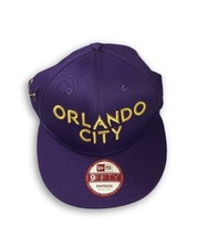 NWT New Orlando City SC New Era 9Fifty 20th Anniversary Snapback Purple ... - $20.16