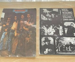 Neil Young And The Eagles Song Books - $24.75