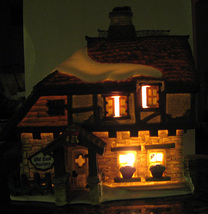 Dept 56 Dickens' Village Series Old East Rectory 58322 Tested 20 Years Old! - $15.00