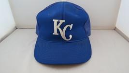 Kansas City Royals Hat (VTG) - Sports Specialties All Blue Trucker - Snapback - $49.00