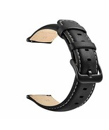 22mm Watch Strap, LEUNGLIK Quick Release Leather Watch Strap Replacement... - $21.54