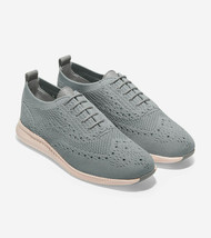 Cole Haan 2 Zerogrand Oxfords Shoes Grey Wingtip Womens W11512 Sz 6.5 - $34.65