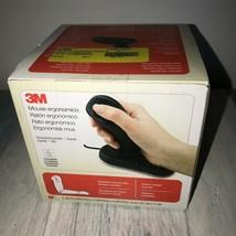 3M Ergonomic Mouse Usb EM500GPL~New~ - $34.65