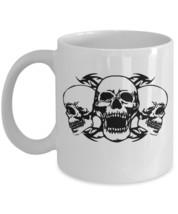 Skulls Tribal Coffee Mug - $15.99