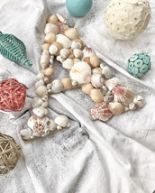 Small Seashell Letter - $25.00