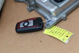 Bmw F30 F33 N20 2.0 4cyl Turbo DME BDC ECU Key Cas Ignition Module Set image 9