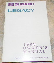 1995 subaru legacy owners manual new original - $20.99