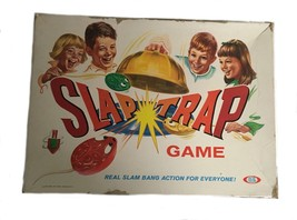 Vintage 1960's Slap Trap Ideal Action Game Toys Baby Boomers R516 - $29.65