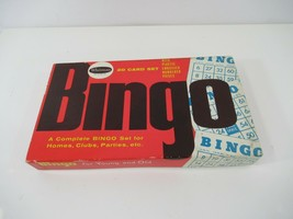 Whitman Bingo Game Vintage For Young & Old Made in the USA with Cards Complete - $17.34