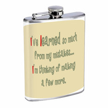 Mistakes Em1 Flask 8oz Stainless Steel Hip Drinking Whiskey - $279,96 MXN