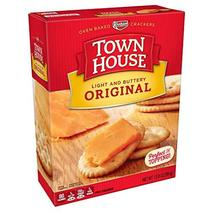 Keebler, Town House, Snack Crackers, Light and Buttery, Original, 13.8 o... - $8.56