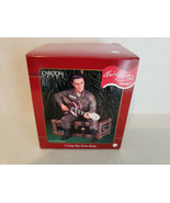 """Carlton Cards Heirloom Collection Elvis """"A Long Way From Home"""" Musical O... - $13.87"""