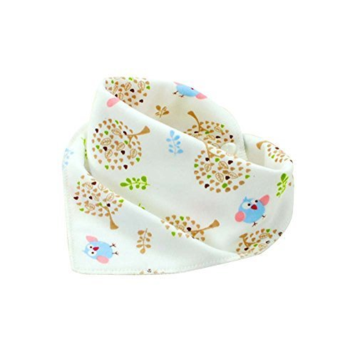 Baby's Gift 4Pcs Adjustable Baby Neckerchief/Saliva Towel