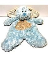 "Ganz Flat a Pat Puppy Dog Baby Lovey Plush 16"" Blue Security Blanket Stu... - $24.48"