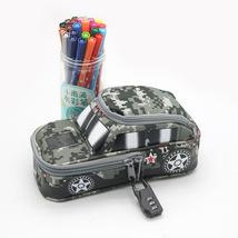 Pencil Case Pen Bag Black Car - $13.99