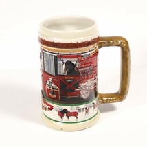 "Anhueser-Busch Budweiser ""The Clydesdales At Home"" CS386 Beer Stein Mug ... - $39.99"