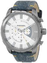 Diesel DZ4345 Stronghold Denim Chronograph Mens Watch - $171.64 CAD