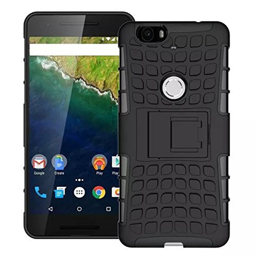 Armour Huawei Nexus 6P Case, GANGXUN Tough-Tread Military Heavy Duty Rugged Hybr