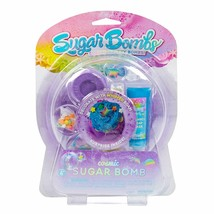 Cosmic Sugar Bath Bombs Surprise Fizzy Decorate w Whipped Soap DIY Kids Kit NEW image 1