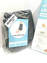 Vive Lace Up Ankle Brace - Foot Support - Size Medium (OPEN BOX NEW) USA----FL image 10