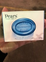 PEARS TRANSPARENT SOAP IN PURE & GENTLE WITH MINT EXTRACT - $8.97