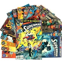Action Comics Comic Book Lot 17 Issues DC VF Superman Bizarro Mister Mir... - $39.55