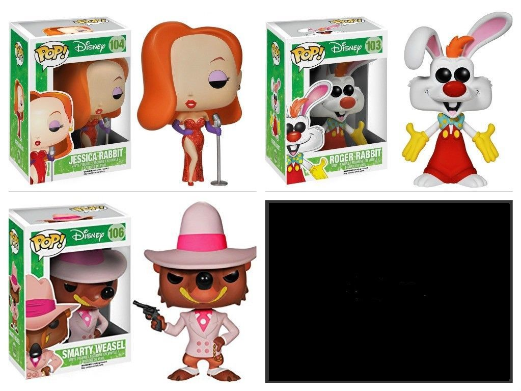 Who Framed Roger Rabbit Figures Set Jessica and 20 similar items