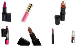 Assorted Set Of 7 Favorite Lipstick/Lip Gloss + Bonus Cosmetic Bag - $25.00