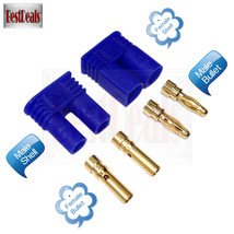 10 Pairs EC2 2.0 mm Device/Battery Connector Gold Bullet Banana Plug Mal... - $9.89
