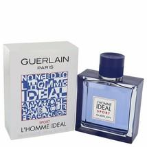 L'homme Ideal Sport by Guerlain Eau De Toilette Spray 3.3 oz (Men) - $66.38