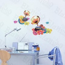 Morning Glory - Wall Decals Stickers Appliques Home Decor - $6.43