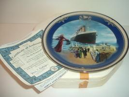 1999 Titanic Queen of the Ocean On the Promenade Plate w COA Box - $29.99
