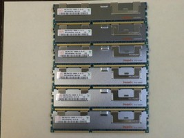 48GB (6X8GB) Memory DDR3 PC3-10600 ECC REG Comp to Dell SNPX3R5MC/8G A3078601