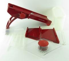 Kitchenaide Mandoline Slicer 6 Piece Set With Blade Storage Container Re... - $23.74